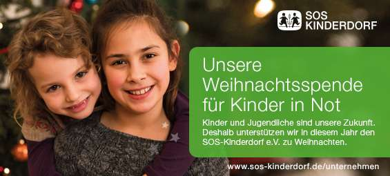 Wir spenden für das SOS Kinderdorf